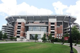 Bryant-Denny Stadium. I swear, everything in the state of Alabama is named after either Coach Bryant or Coach Jordan.