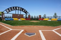 One of the coolest stops in Omaha, old Rosenblatt Stadium.