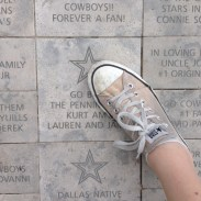 Sorry, Pennington family -- had to find a star in Dallas and stomp on it. #FlyEaglesFly