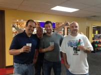 Craig, Spoot, Doug, and JB -- gonna miss these guys.