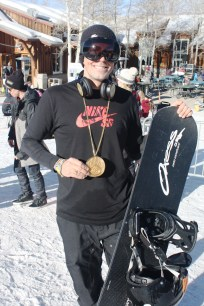 Way to go, Keith! The first Snowboarder X Adaptive gold in XGames history.