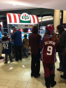 Trying to make the Flyers feel at home with a Rita's, Avs?