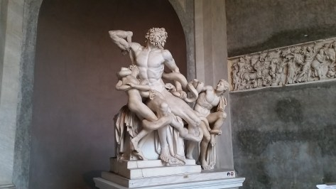 The original Laocoon sculpture