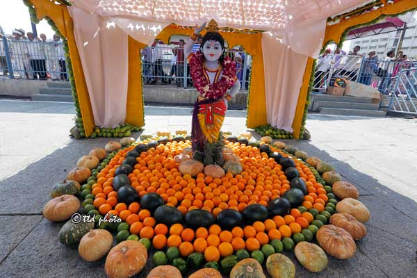 Krishna-flower-decoration