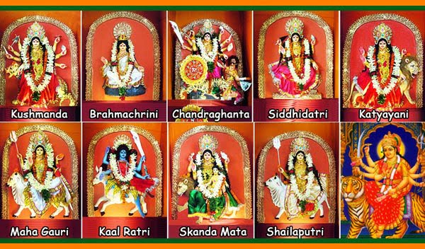 Different Forms of Goddess Durga Devi