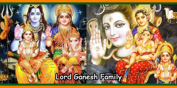 Lord Ganesh Family