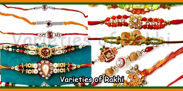 Varieties of Rakhi