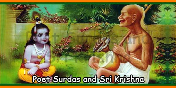 Poet Surdas and Sri Krishna