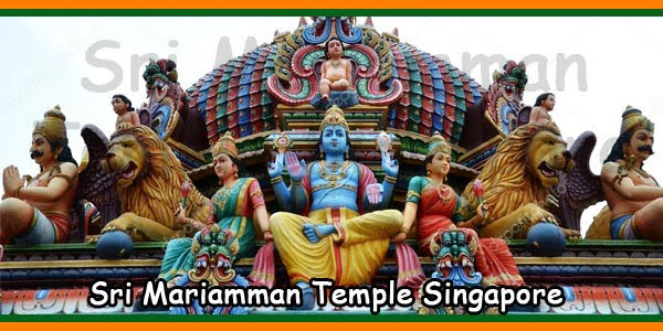 Sri Mariamman Temple Singapore China Town