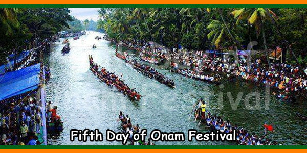 Fifth Day of Onam Festival