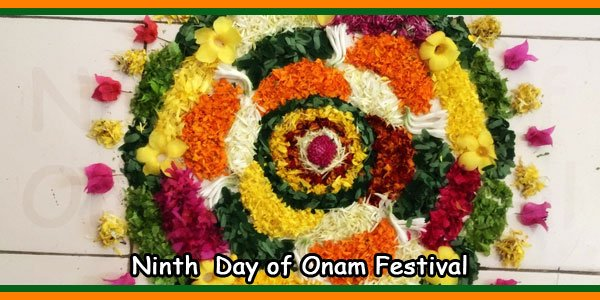 Ninth Day of Onam Festival