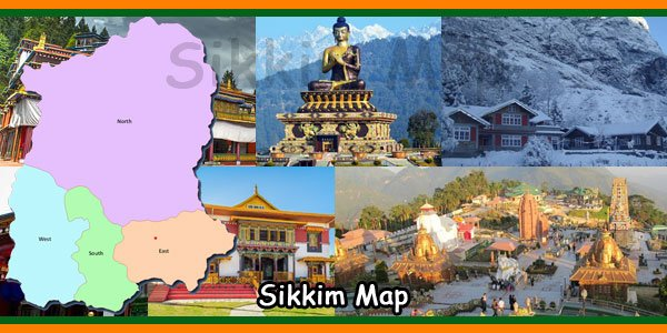 Sikkim Map