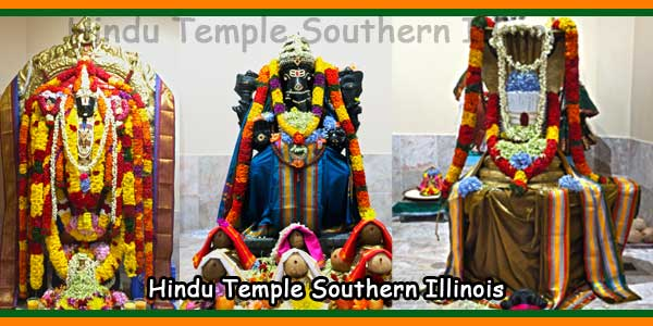 Hindu Temple Southern Illinois