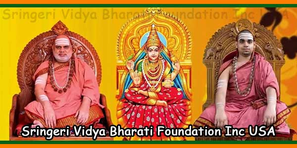 Sringeri Vidya Bharati Foundation Inc USA