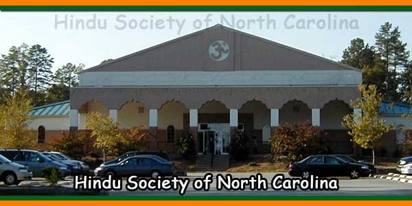 Hindu Society of North Carolina Temple