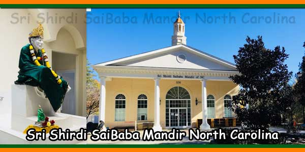 Sri Shirdi SaiBaba Mandir North Carolina