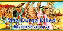 Goddess Durga Killed King Mahishasura