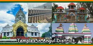 Temples in Angul District
