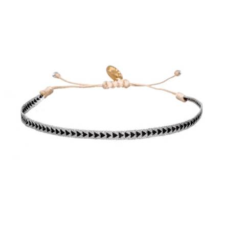 449-Argantina-bracelet-silver-black-arrow-guanabana-woven-bracelet-templestones-1
