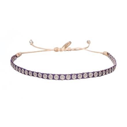 664-Argantina-bracelet-purple-gold-dot-guanabana-woven-bracelet-templestones-1