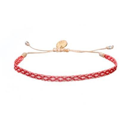 Argantina-bracelet-pink-white-woven-bracelet-templestones-1