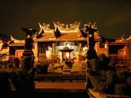 Klenteng Hiap Thian Kiong, Xie Tian Gong: Guān Shèng Dì Jūn 關 聖 帝 君. Bandung. Indonesia.