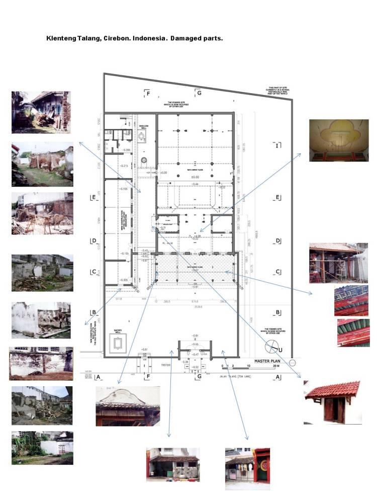 Reconstruction & preservation of Klenteng Talang, Gung Miao, Cirebon. Indonesia (1/3)