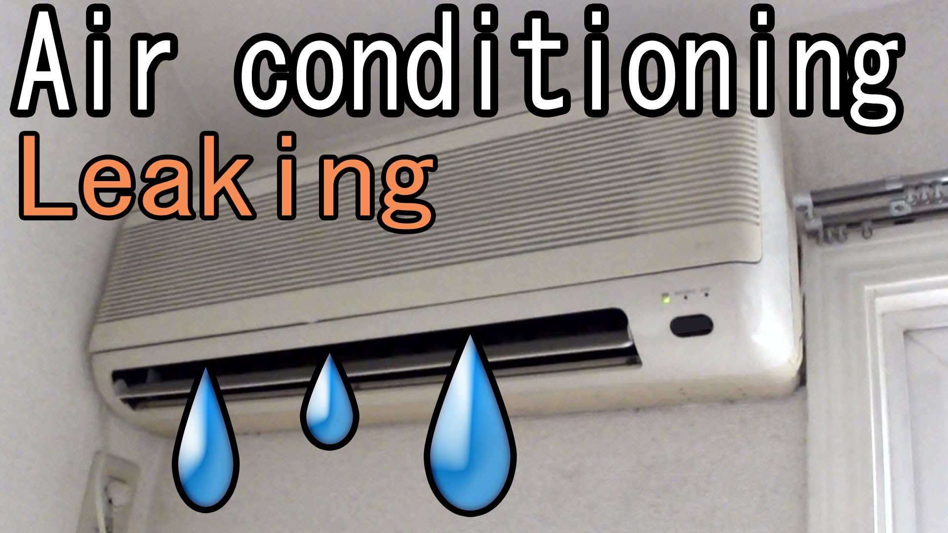 Home Air Conditioning Leaking Water