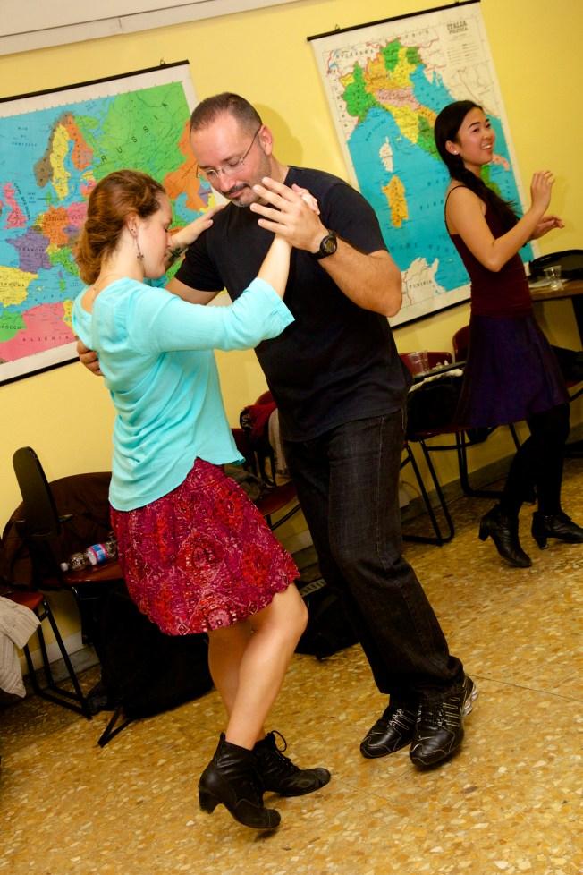 We kept dancing!