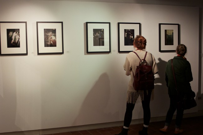 Photography Class took a trip to the Gordon Parks photo exhibit.