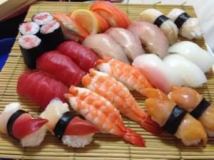 Tomomi made such wonderful Endomae Nigirizushi and I loved every bite!