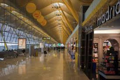 Barajas Airport - Madrid, Spain. Photo courtesy of en.wikipedia.org)