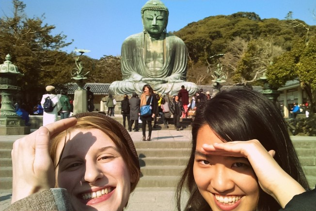 Check out the Kamakura Daibutsu, it's well worth the little extra money it takes to get there and it can lead to a whole day of shopping and exploring. There are many small shops and restaurants to check out -- have fun!