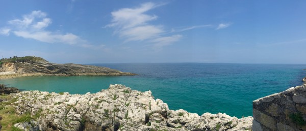 A view of the sea in the coastal town of LLanes