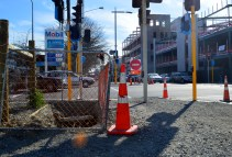 Every venture into ChCh is a new maze of construction equipment!