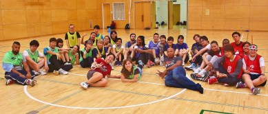 What a happy looking group! Sports Night was so much fun!