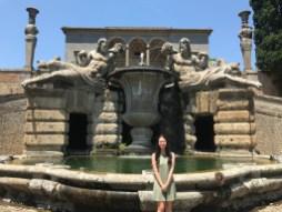 The Gardens of the Villa Farnese