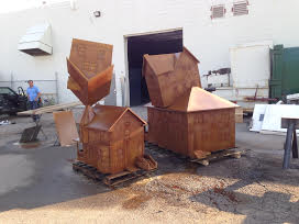 Final pieces are complete and ready for transport to the site