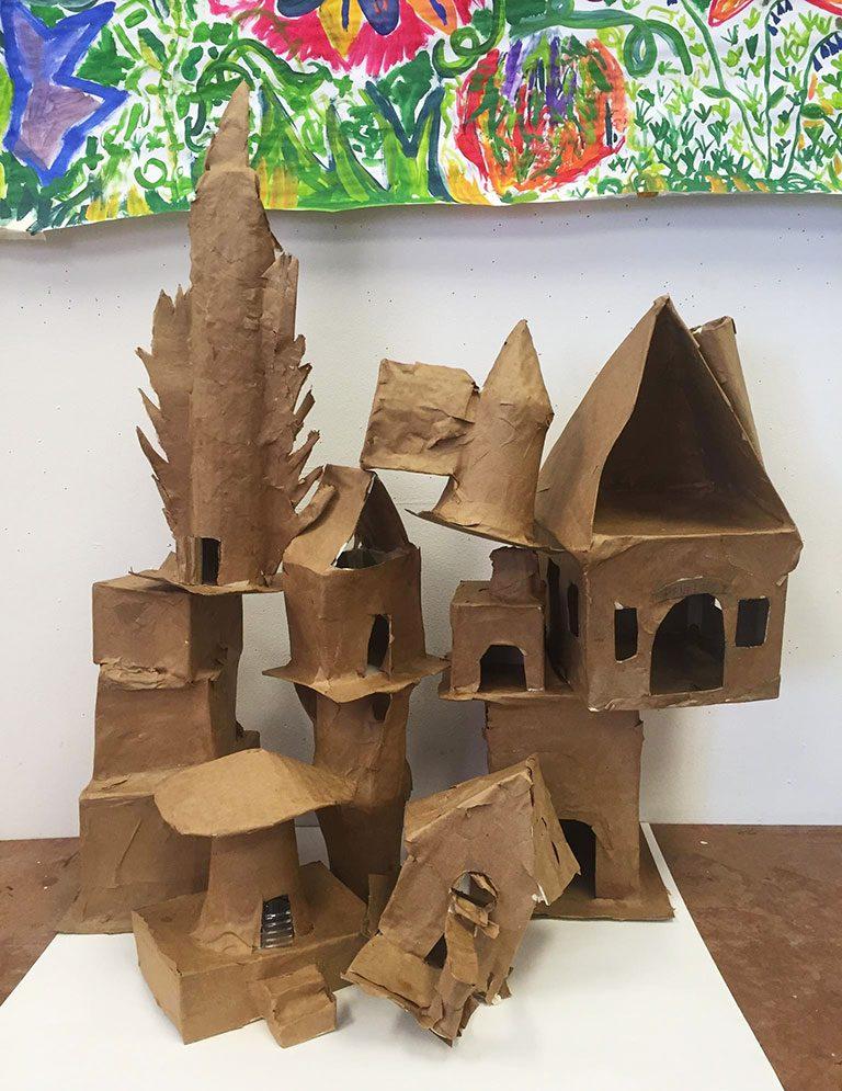 Oak Street Studios students...build