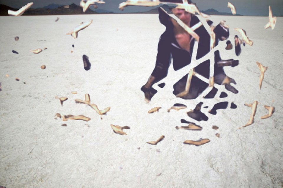 Kelly Kaczynski, Study for Convergence Performance (salt), still from video, 2009, video 30:21 looped