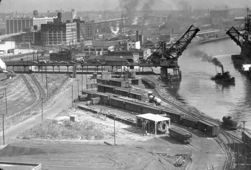 Pidgeon Street Yard, Hunter's Point - October 11, 1943