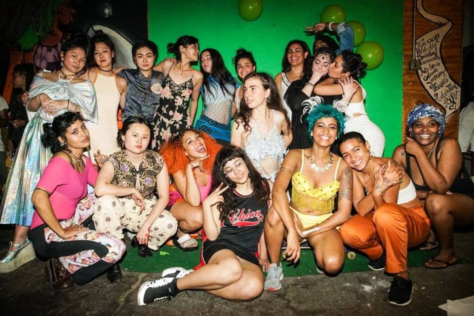Brujas, BUFU and Yellow Jackets Collective, Three POC femme collectives holding it down at ANTI-PROM 2k16
