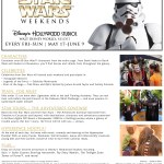 WDW HS Star Wars Weekends 2013
