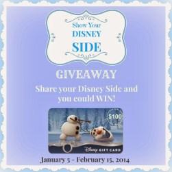 Disney Side Giveaway 2