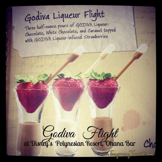 Godiva Flight at Disney's Polynesian Resort, Ohana Bar - $9.50