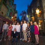 Helena Bonham Carter, Tom Felton and Other Harry Potter Film Stars Experience Red Carpet Preview of  The Wizarding World of Harry Potter – Diagon Alley at Universal Orlando Resort