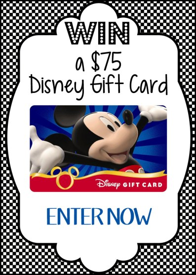 Summer Celebration Disney Gift Card Giveaway