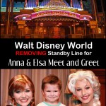 Anna and Elsa Meet and Greet Standby Line Removal Test – One Year Later