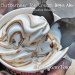 Butterbeer Ice Cream – Delicious!