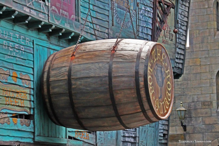 The Hopping Pot from Diagon Alley from Universal Studio's Wizarding World of Harry Potter